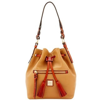 Dooney & Bourke Pebble Grain Small Logan (Introduced by Dooney & Bourke at $268 in Jul 2016) - Desert