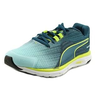 Puma Faas 500 v4 Women  Round Toe Synthetic Blue Running Shoe