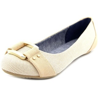 Dr. Scholl's Frankie Round Toe Canvas Flats