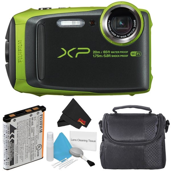 Shop Fujifilm Finepix Xp120 Waterproof Digital Camera Bundle Overstock 22227653