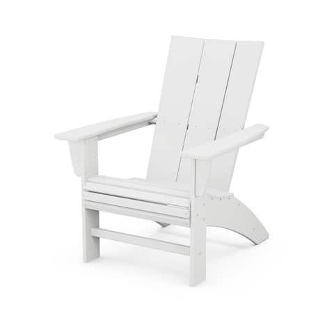 POLYWOOD Modern Curveback Adirondack Chair