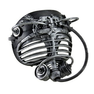 Metallic Finish Steampunk Full Face Submarine Diver Mask (2 options available)