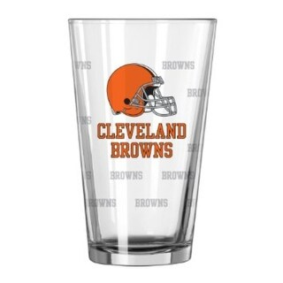 Link to Cleveland Browns Satin Etch Pint Glass Set Similar Items in Fan Shop