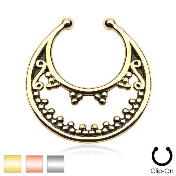 Luna Non-Piercing Septum Hanger (Sold Ind.)