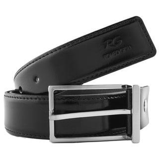Romeo Gigli J276/35 NERO Black Leather Adjustable Belt