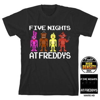 "Five Nights at Freddy's ""5 Nights at Freddy's"" Boy's Black T-Shirt"