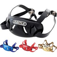 Battle Sports Science Adult Chrome Protective Football Chin Strap - One Size
