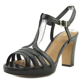 Clarks Artisan Jenness Night   Open Toe Leather  Sandals