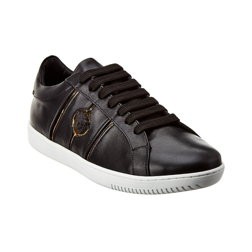 Versace Martin Low Top Leather Sneaker