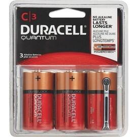 Duracell Quantum C 3Pk Battery