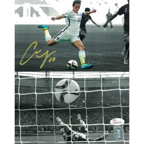 Shop Carli Lloyd Autographed USA Womens Soccer 8x10 Photo World Cup Goal  JSA - Free Shipping Today - Overstock.com - 15832946 fd06438f7d