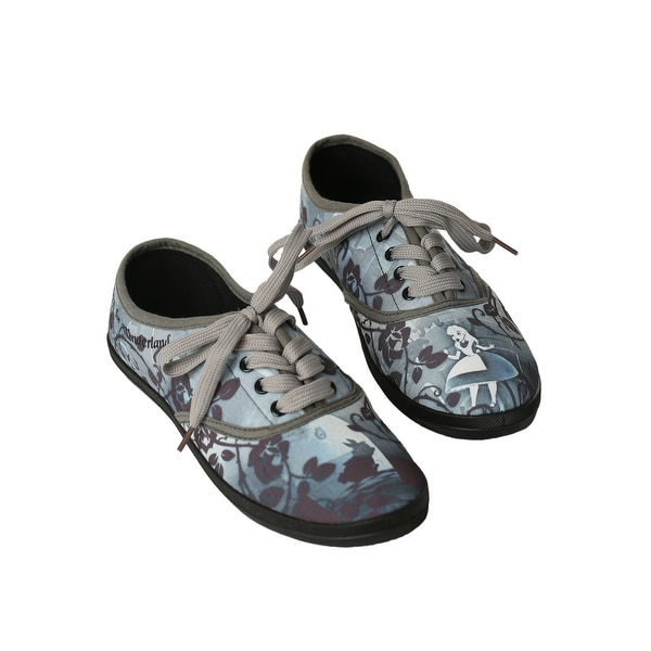 Alice In Wonderland Womens Lace Up Sneaker