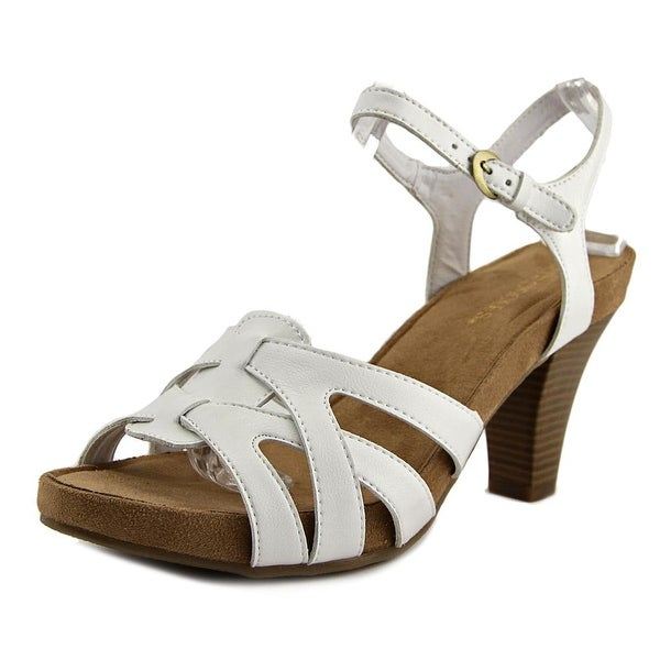 Aerosoles Hearsay Women White Sandals