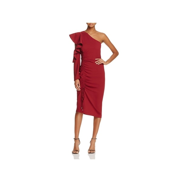 884a5a4d14 Shop Cameo Womens Cocktail Dress Cascade Ruffle Party - Free ...