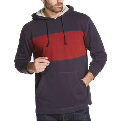 Weatherproof Mens Colorblocked Hoodie Sweatshirt