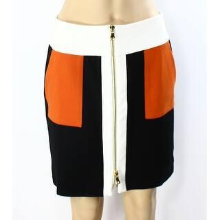 INC NEW Orange Womens Size 2 Colorblocked Ponte Zip-Front Mini Skirt https://ak1.ostkcdn.com/images/products/is/images/direct/c92e80d60e8597de7495dcc5b26ddfea045aea0d/INC-NEW-Orange-Womens-Size-2-Colorblocked-Ponte-Zip-Front-Mini-Skirt.jpg?impolicy=medium