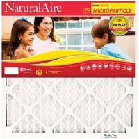 """NaturalAire 85156.011420 Micro Particle Pleated Air Filter, 14"""" x 20"""" x 1"""""""