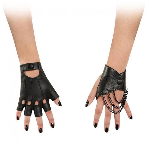 Descendents Mal Costume Gloves Child One Size