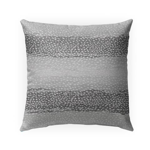 FAWN CHARCOAL Indoor-Outdoor Pillow By Kavka Designs