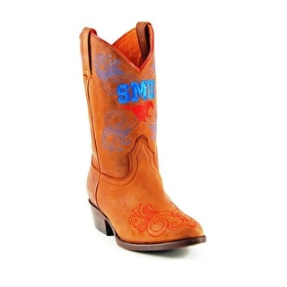 Gameday Boots Girl Western Southern Methodist Mustang Honey