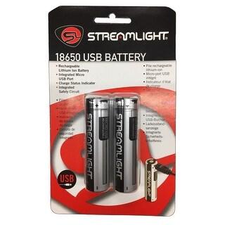 Streamlight 22102 streamlight 22102 18650 usb battery - 2pk