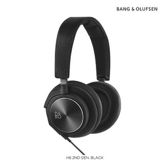 B&O PLAY by Bang & Olufsen BeoPlay H6 Over-Ear Headphones 2nd Generation