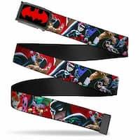 The Big Bang Theory Full Color Black White Red Immune To Sarcasm Atom Black Seatbelt Belt - M