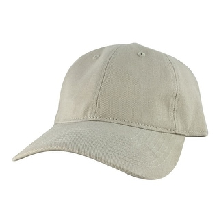 CapRobot Style#101 Unstructured Low Profile Strapback Hat Dad Cap - Creamy - Beige