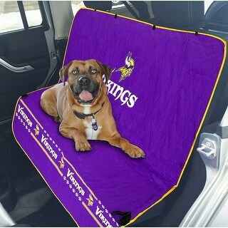 Pets First NFL Minnesota Vikings Pet Car Seat Cover