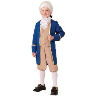 Forum Novelties Washington Child Costume (M) - Blue/Beige - Medium