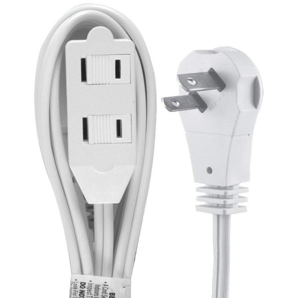 GE 50360 GE Wall Hugger Power Extension Cable - 6ft