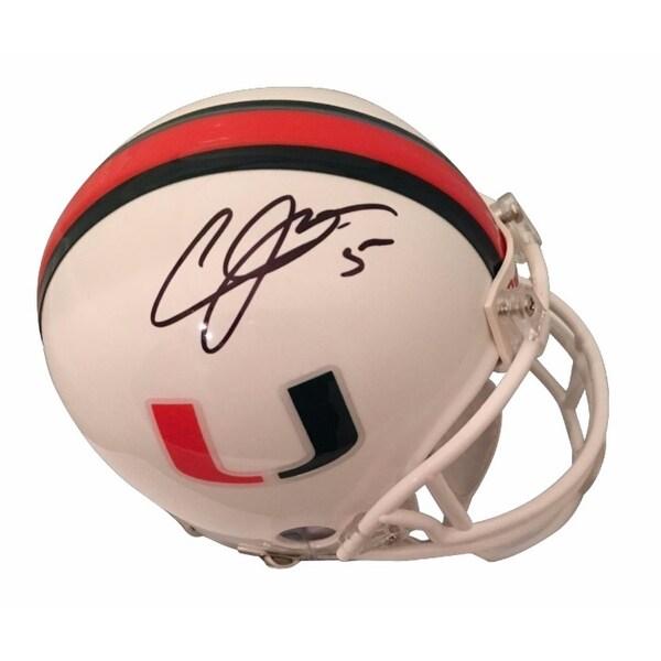 sale retailer 8f0b0 8b63c Shop Andre Johnson Autographed Miami Hurricanes Signed ...