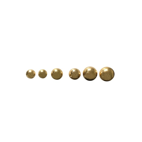 max & MO Set of 3 Ball Stud Earrings