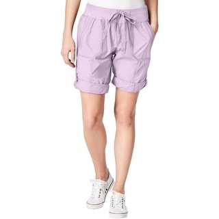Calvin Klein Performance Womens Shorts Cargo Athleisure