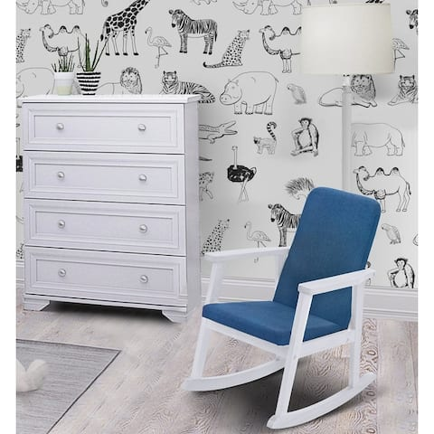 Bentley Kids' Rocking Chair with Seat Cushions