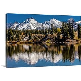 """""""Mountains, Colorado"""" Canvas Wall Art"""