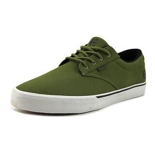 Etnies Jameson vulc Men Round Toe Canvas Green Skate Shoe