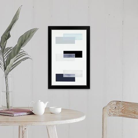 """""""First Level Up XVII"""" Black Framed Print"""