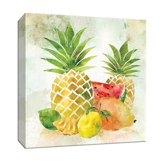 "PTM Images 9-147926  PTM Canvas Collection 12"" x 12"" - ""Tropical Fruit II"" Giclee Fruits & Vegetables Art Print on Canvas"