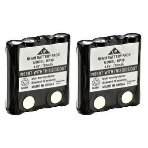 Battery Genie Two-way Radio Battery - 700 mAh - Nickel Metal Hydride (NiMH) - 4.8 V DC