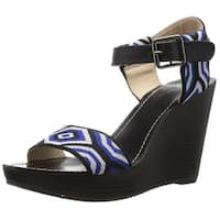 LFL by Lust for Life Women's L-Newbie Wedge Sandal
