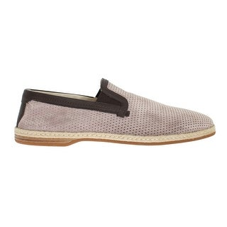 Dolce & Gabbana Dolce & Gabbana Light Pink Leather Breathable Loafers