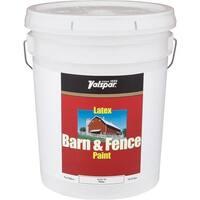 Valspar Ltx Flat Wht Barn Paint 018.3125-70.008 Unit: PAIL