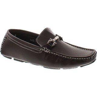 Brixton Payne Men Casual Light Weight Horse Bit Buckle Driving Moccasins Shoes