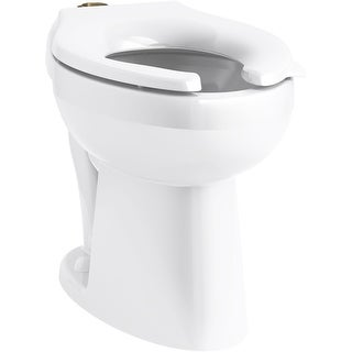 Kohler K-96057-SS  Highcliff Bowl Only Elongated Toilet - White