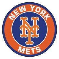 MLB New York Mets Rounded Non-Skid Mat Area Rug