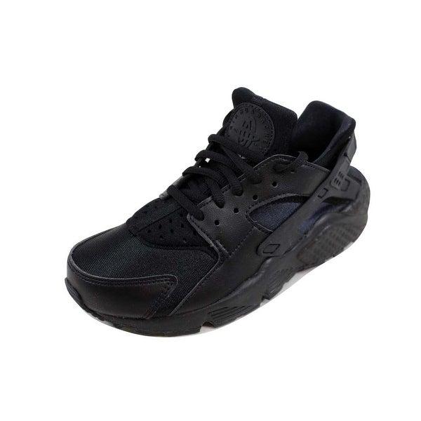 6a560a2065f0a Shop Nike Women s Air Huarache Run Black Black 634835-012 - On Sale ...