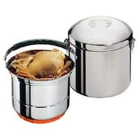 """Sunpentown CL-033 8"""" Stainless Steel Stove-Top Thermal Cooker"""