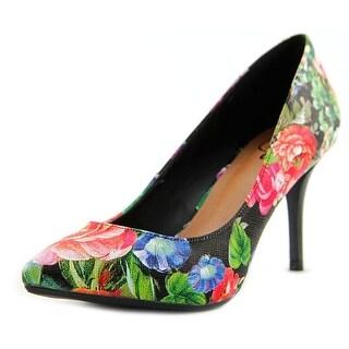 143 Girl Owanda Women  Pointed Toe Synthetic Multi Color Heels