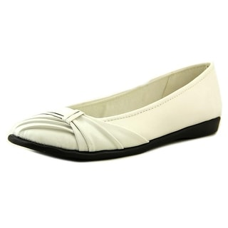 Easy Street Giddy Round Toe Synthetic Flats